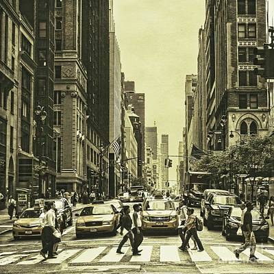 Urbanites Poster by Andrew Paranavitana