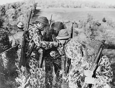 U.s. Army Soldiers Wearing Poster