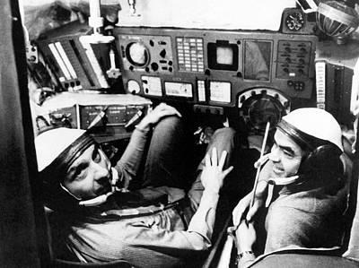 Us Astronaut Thomas Stafford Training Poster