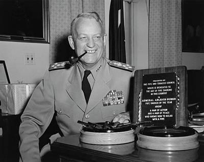 U.s. Navy Admiral Arleigh A. Burke Poster