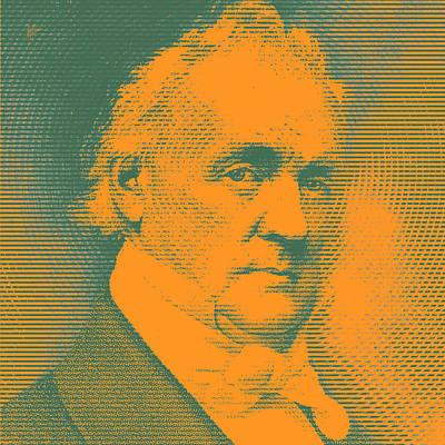 Us President James Buchanan Poster by Nop Briex