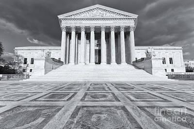 Us Supreme Court Building Ix Poster