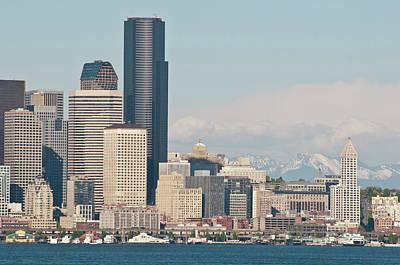 Us, Wa, Seattle Downtown Waterfront Poster