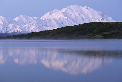 Usa, Alaska, Mount Mckinley, Wonder Poster by Gerry Reynolds