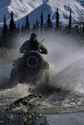 Usa, Alaska, Park Ranger, All Terrain Poster