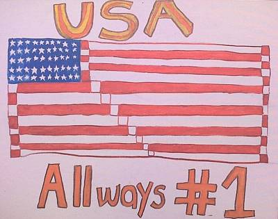 Usa Always #1  Poster