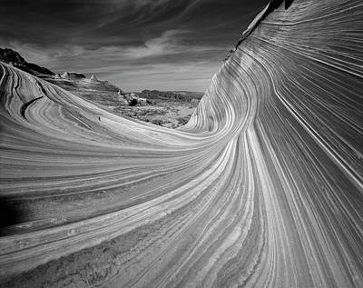 Usa, Arizona, Paria Canyon, The Wave Poster by Adam Jones