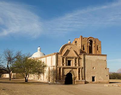 Usa, Arizona, Tumacacori, Tumacacori Poster by Peter Hawkins
