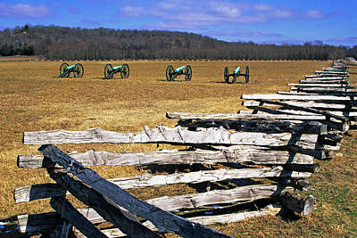 Usa, Arkansas Split-rail Fence Poster