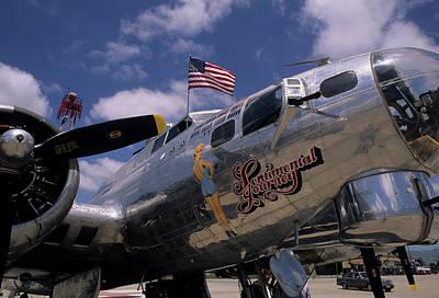 Usa, B-17 Bomber Aircraft, Salinas Poster by Gerry Reynolds