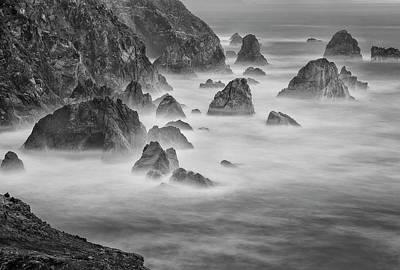Usa, California, Mendocino Coast Poster