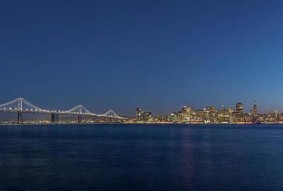 Usa, California, San Francisco, Bay Poster
