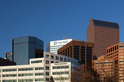 Usa, Colorado, Denver, Downtown Poster