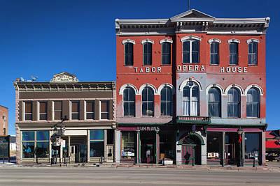 Usa, Colorado, Leadville, Historic Poster