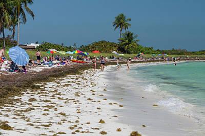Usa, Florida, Big Pine Key, Bahia Honda Poster by Charles Crust