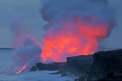 Usa, Hawaii, Hawaii Volcanoes National Poster by Jaynes Gallery