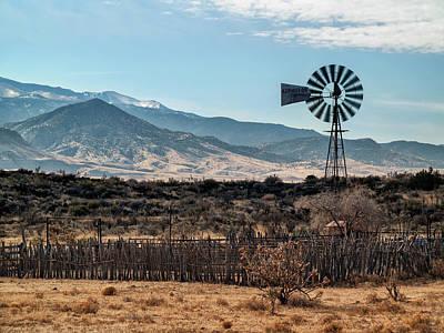 Usa, New Mexico, Aermotor Windmill Poster