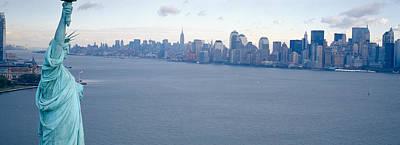 Usa, New York, Statue Of Liberty Poster