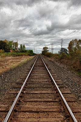 Usa, Oregon, Brooks, Railroad, Digital Poster