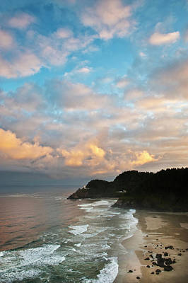 Usa, Oregon Heceta Head Lighthouse Poster by Jaynes Gallery
