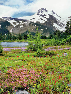 Usa, Oregon, Mt Jefferson Wilderness Poster by Jaynes Gallery