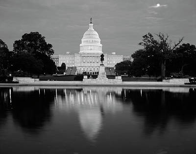 Usa, Washington Dc, Capitol Building Poster by Walter Bibikow