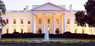 Usa, Washington Dc, White House Poster