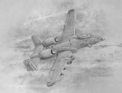 Usaf Fairchild-republic  A-10 Warthog Poster