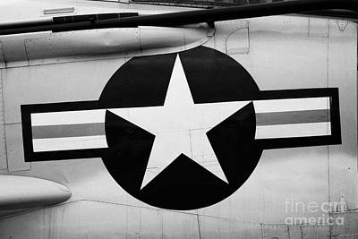 Usaf Star And Bars Insignia On A Mcdonnell F3b F3 Demon  Poster by Joe Fox