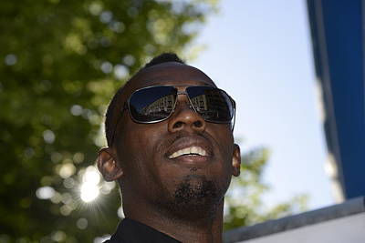Usain Bolt - The Legend 1 Poster by Teo SITCHET-KANDA