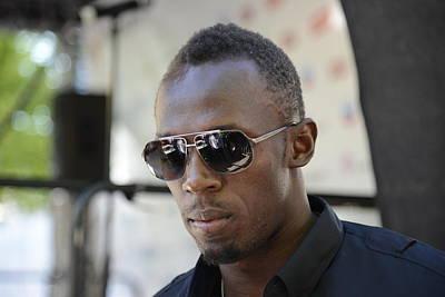 Usain Bolt - The Legend 3 Poster by Teo SITCHET-KANDA