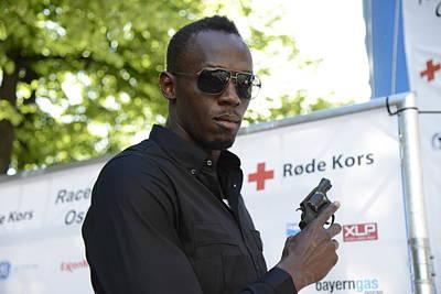 Usain Bolt - The Legend 4 Poster by Teo SITCHET-KANDA