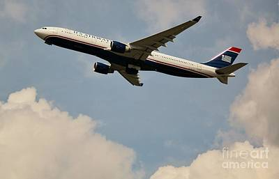 Usairways Poster by Rene Triay Photography
