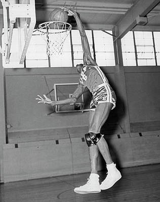 Usf Star Bill Russell Poster by Underwood Archives