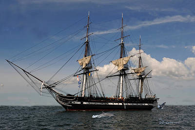 Uss Constitution - Featured In Comfortable Art Group Poster