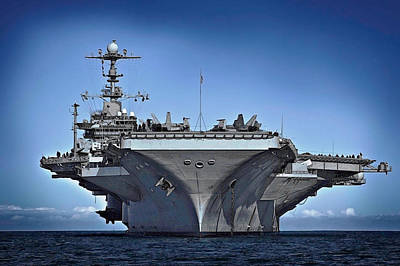 Uss George Washington Poster