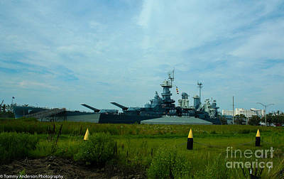 Uss North Carolina Bb-55 Poster