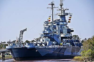 Uss North Carolina Poster