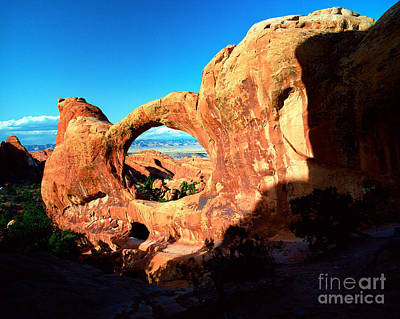 Utah - Arches National Park - Double O Arch 2 Poster by Terry Elniski