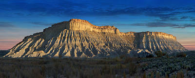 Utah Outback 40 Panoramic Poster by Mike McGlothlen