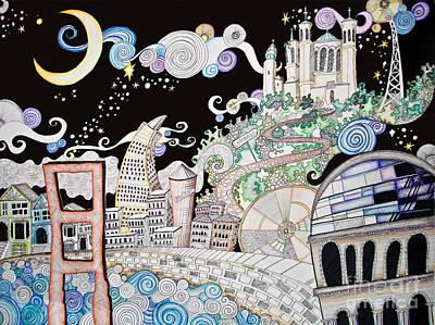 Utopia Poster by Devan Gregori