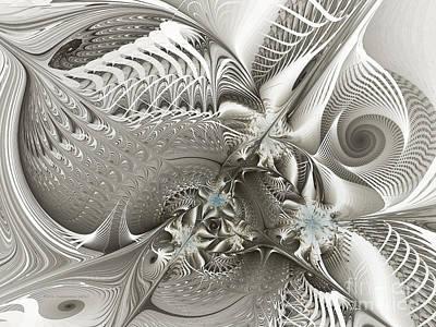 Utopia-fractal Art Poster