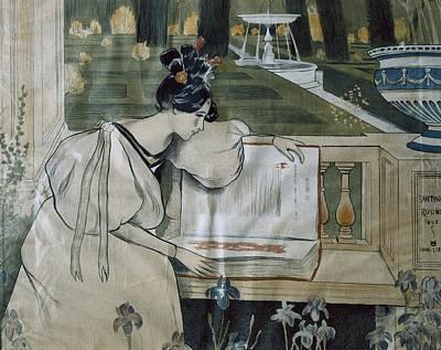 Utrillo, Miquel 1862-1934. Fulls De La Poster by Everett