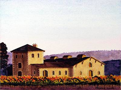 V. Sattui Winery Poster