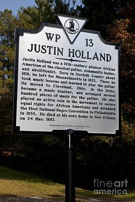 Va-wp13 Justin Holland Poster by Jason O Watson