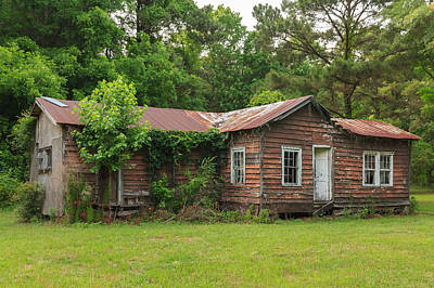 Poster featuring the photograph Vacant Rural Home by Patricia Schaefer