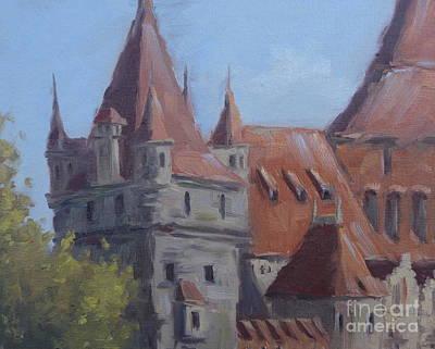 Vajdahunyad Castle Poster by Viktoria K Majestic