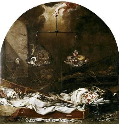 Vald�s Leal, Juan De 1622-1690. Finis Poster by Everett