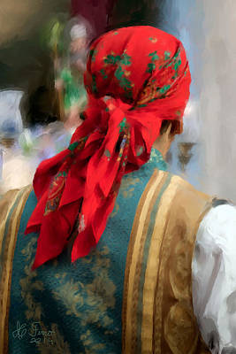 Poster featuring the photograph Valencian Man In Traditional Dress. Spain by Juan Carlos Ferro Duque