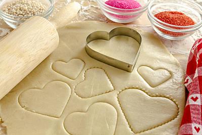 Valentine Cookie Love Poster by Teri Virbickis